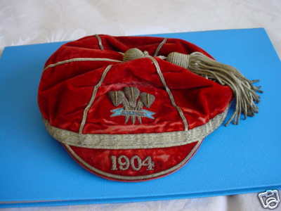 Welsh rugby football cap